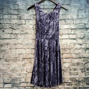 Altar'd State | Romantic Luxe Glam Velvet Dress